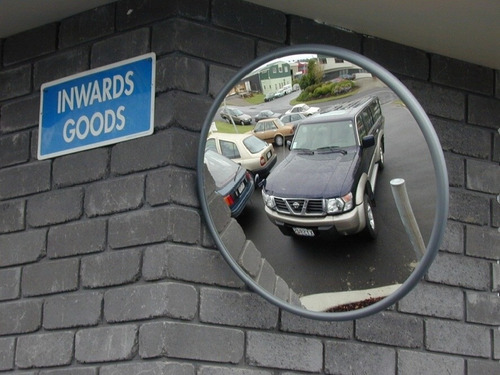 espelho convexo para garagens ( retrovisor e portaria)