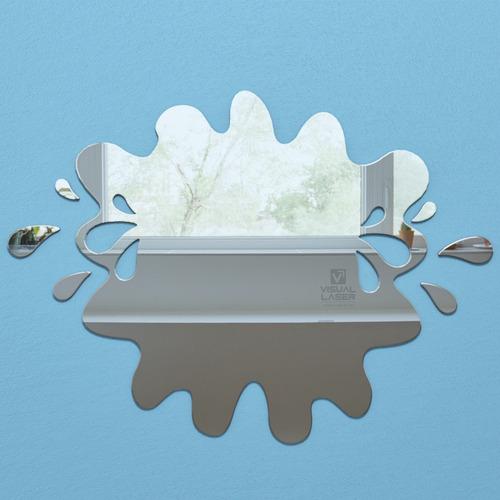 espelho decorativo splash acrílico 35cm