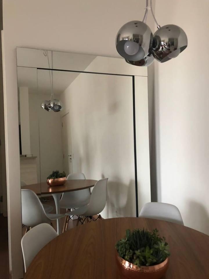 Espelho Modelo Etna 90x190 Chão Ou Parede