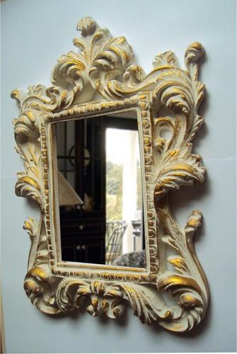 espelho moldura ramada 2, pintura provençal.