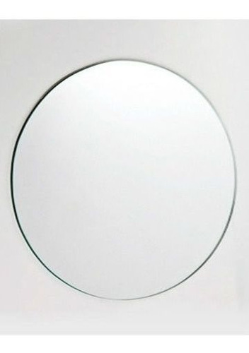 espelho multiuso lapidado redondo 50cm diam. com pendurador