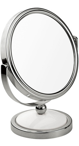 espelho para maquiagem mor de mesa aumento 2x dupla face