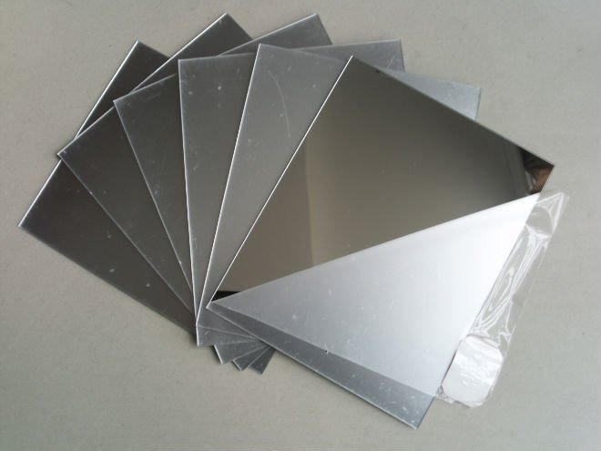 Espelho pl stico similar ao acr lico chapa 100x50cm 2mm - Plexiglass a specchio ...