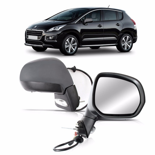 espelho retrovisor 3008 11 12 13 14 15 eletrico