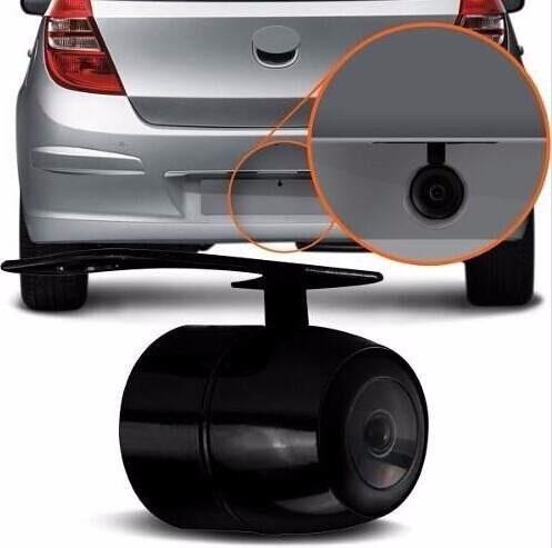 espelho retrovisor com tela + câmera de ré estacionamento