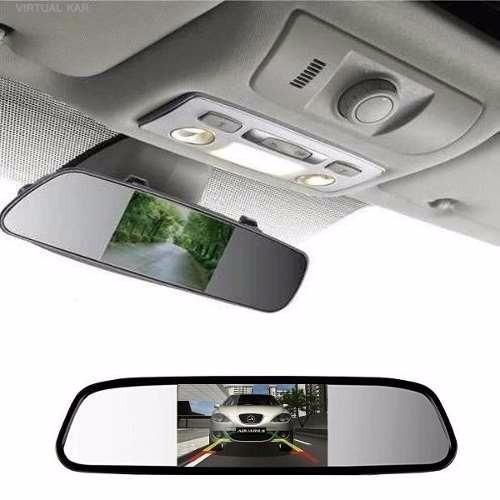 espelho retrovisor com tela e câmera de ré visão noturna