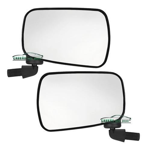 espelho retrovisor fusca itamar 93 a 96 pé de ferro (o par)