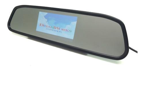espelho retrovisor interno com tela monitor camera de ré