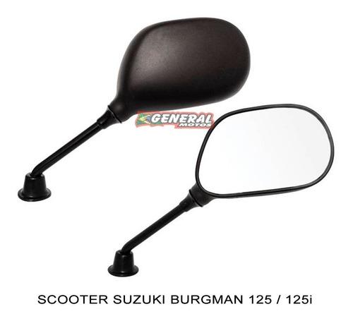 espelho retrovisor lado direito moto scooter burgman 125