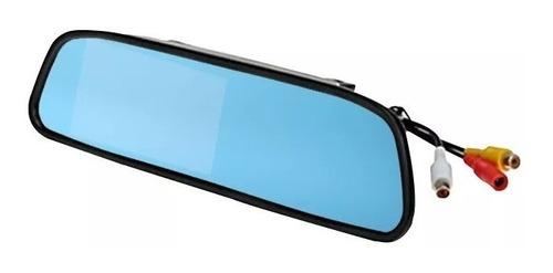 espelho retrovisor monitor full e câmera ré colorida noturna