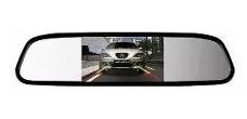 espelho retrovisor monitor para câmera de ré tfl lcd 4.3 v2
