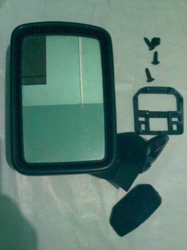 espelho retrovisor saveiro gol bx 83/87 pé ferro vw original