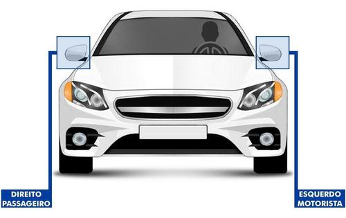 espelho retrovisor uno elx 2 e 4 portas controle interno
