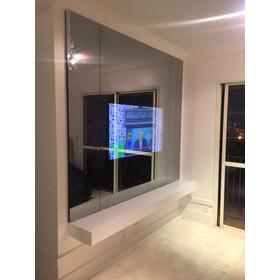 Espelho Tv Lapidado 2,50 X 2,00