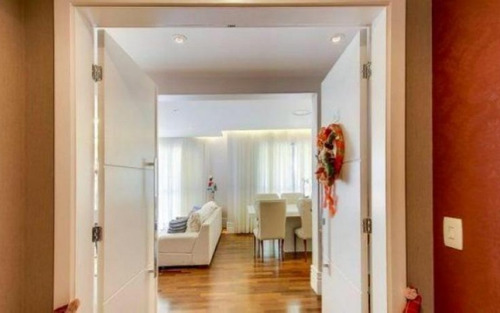 espetacular apartamento com belíssima varanda gourmet, para venda e locação, vila andrade, são paulo.