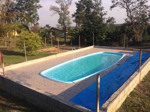espetáculo de sítio em mairinque c/41.000m2 piscina, frutas