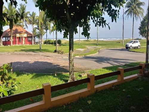espetáculo - mansão pé na areia na praia do bairro mais nobre de itanhaém more bem ou  abra sua pousada com vista para o mar - ca00006 - 34005919
