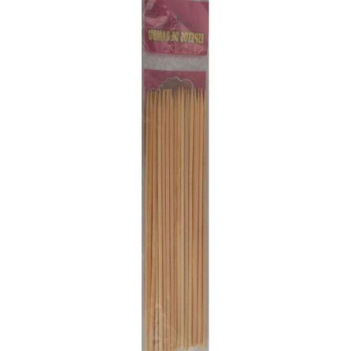 espetinho para churrasco 28 cm - 50 pacotes / frete gratis