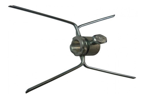 espeto completo para maquina assar frango com cabo aluminio