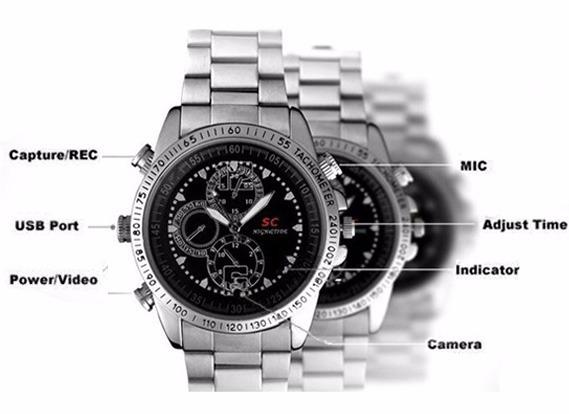 27467cb155e espiã relógio espião relógio espião · relógio de pulso espião 8gb camera ...