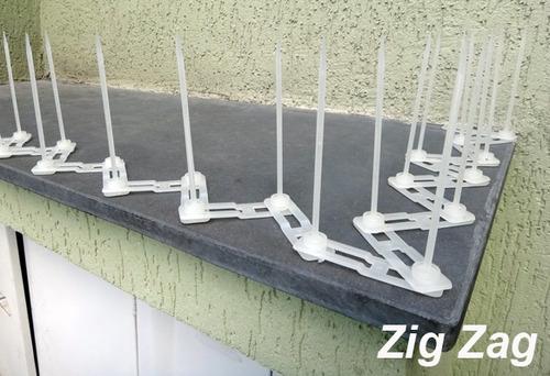 espiculas espanta e repele contra pombos kit 10 metros