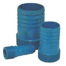 espigão de ferro fundido azul 2.1/2 polegada - 2pçs