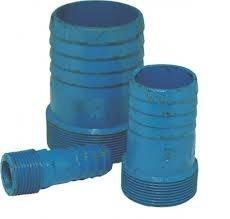 espigão de ferro fundido azul 6 polegada