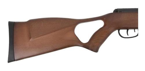 espingarda de chumbinho bam b19z 5.5mm swbr com gás ram + luneta 4x32 + capa