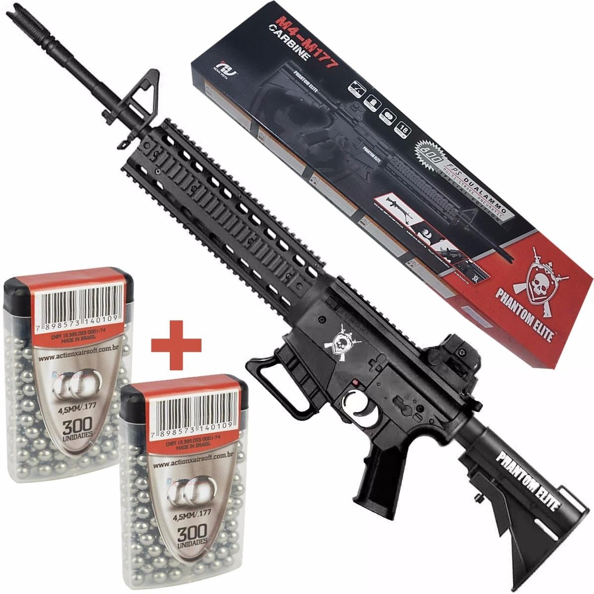 Espingarda presso chumbinho rifle m4 800 fps capac 80 tiros r carregando zoom fandeluxe Choice Image