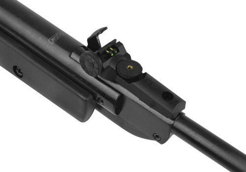 espingarda qgk black diamond 5.5mm + munição + capa + brinde