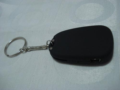 espião áudio chaveiro