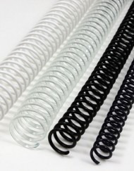 espiral encuadernancion bolsa de 70 unidades en 20 mm