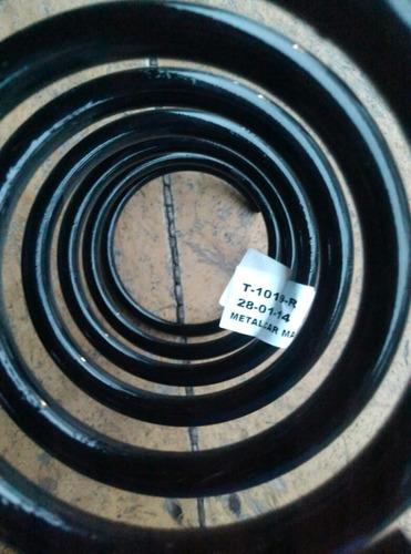 espiral trasero toyota corolla baby camrry
