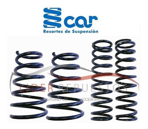 espirales kit x4 fiat palio / siena reforzado gnc
