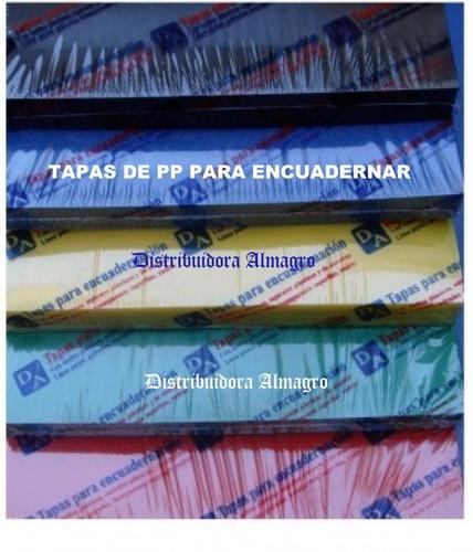 espirales plasticos para encuadernacion nº 17 pte. x 50 uni.