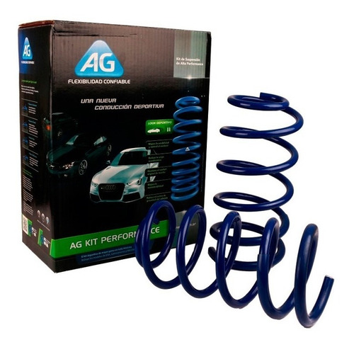 espirales progresivos ag kit p/ ford ka