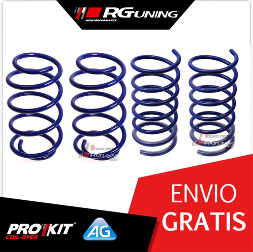 espirales progresivos honda fit 03-08 ag kit x4