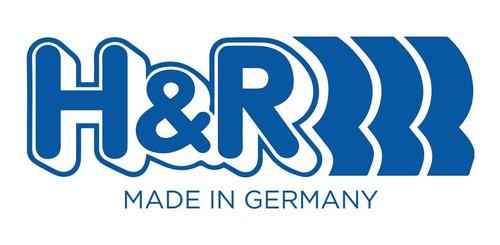 espirales progresivos h&r  sport alemanes - vw bora 1.8t