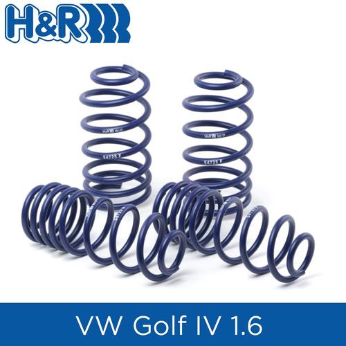 espirales progresivos h&r sport alemanes - vw golf mk4 1.6