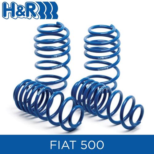 espirales progresivos h&r super sport- fiat 500