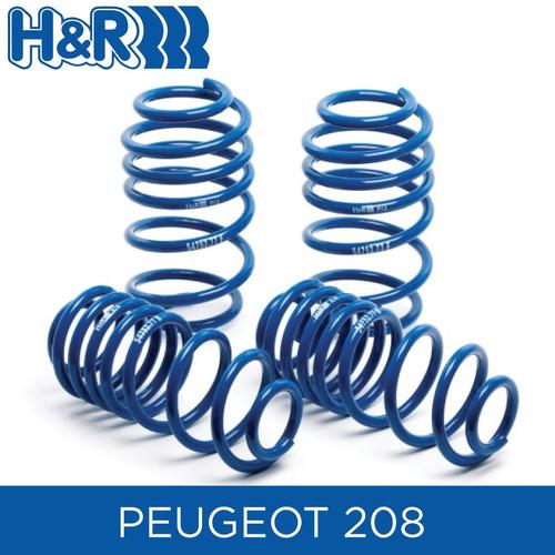espirales progresivos h&r super sport- peugeot 208