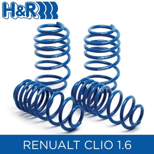 espirales progresivos h&r super sport- renault clio 1.6