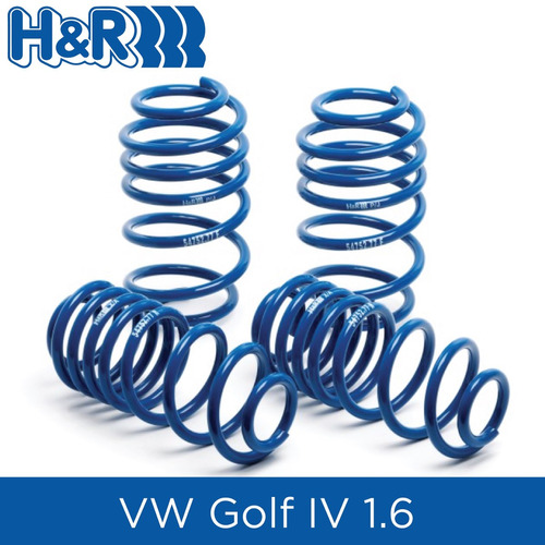 espirales progresivos h&r super sport- vw golf iv 1.6