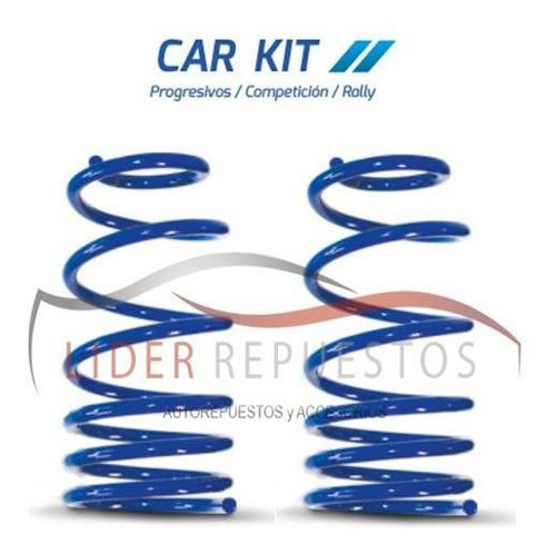 espirales rally kit x4 volkswagen gol power 04/11