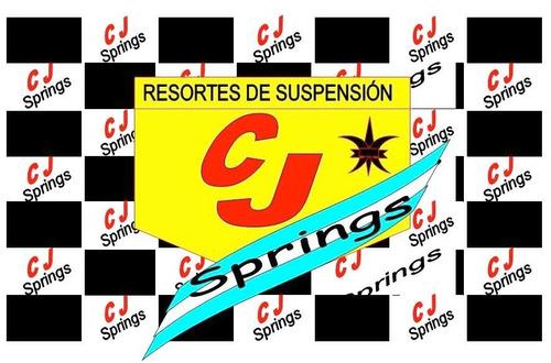 espirales / resortes renault 12 r12 traseros gnc