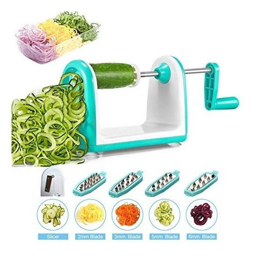 espiralizador verduras cortador verduras ineibo cortador