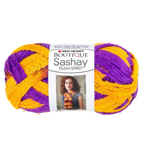 Espíritu De Equipo Púrpura Y Oro Hilo Sashay - Caja De : 12 ...