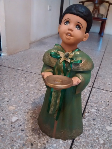 espiritu de la navidad en cerámica