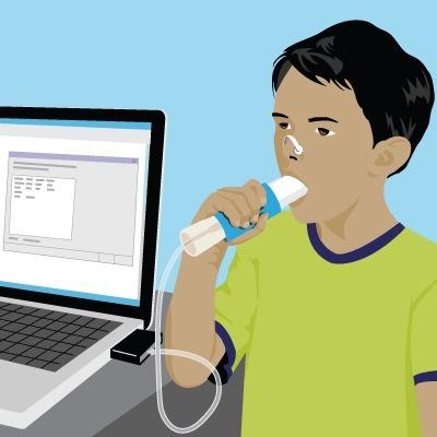 espirometria con informe $ 500 - estudio funcional respirato