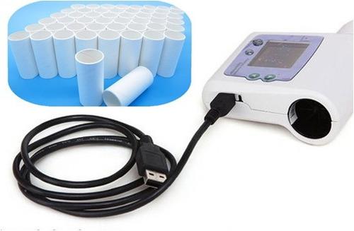 espirometro digital contec sp10 salud ocupacional